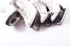 冰鞋关闭  免版税库存图片