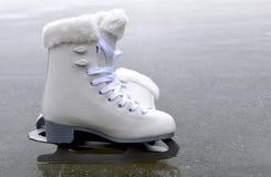 冰鞋的花样滑冰 库存图片