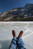 冰鞋 免版税库存照片