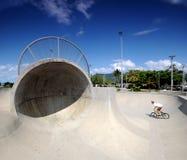 冰鞋BMX公园 免版税库存图片