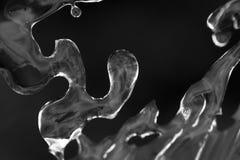 冰,在孚日省山的冬天板料  免版税库存照片