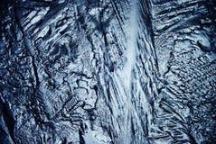 冰,结冰的水天然冰纹理  图库摄影