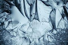冰,结冰的水天然冰纹理  库存图片
