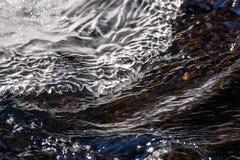 冰水冰柱样式流程 图库摄影