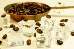 冰冻咖啡 免版税图库摄影