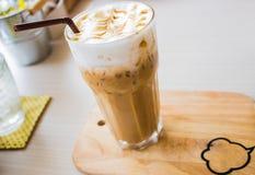 冰冻咖啡 库存图片