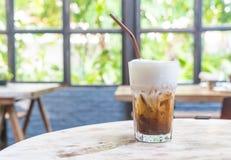 冰冻咖啡 免版税库存照片