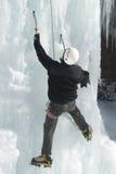 冰登山人 库存图片