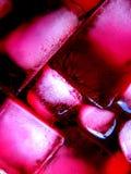 冰ii粉红色 库存图片