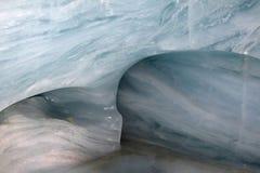 冰jungfraujoch瑞士隧道 库存图片