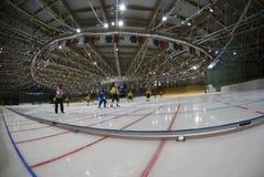 冰krylatskoye宫殿体育运动 免版税库存照片