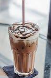 冰mocca咖啡 免版税库存照片