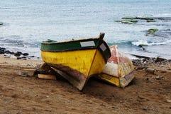 冲浪在非洲 免版税库存照片