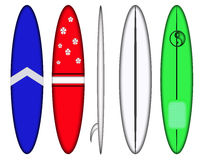 冲浪板设计模式 免版税库存照片
