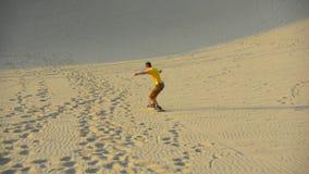 冲浪沙子 图库摄影