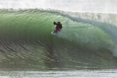 冲浪的大波动性气旋 免版税库存照片