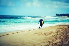 冲浪的美国 免版税库存照片