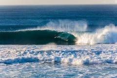 冲浪的车手肾上腺素仓促兴奋 库存照片