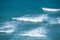 冲浪的金刚石头Hawai 001i 库存图片