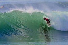 冲浪的骑马乐趣颜色 免版税库存照片