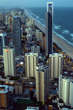 冲浪者天堂地平线-昆士兰澳大利亚 库存照片