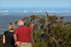 冲浪者天堂地平线-英属黄金海岸昆士兰澳大利亚 库存照片
