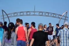 冲浪者天堂昆士兰澳大利亚 免版税图库摄影