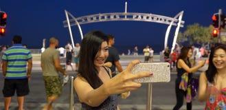 冲浪者天堂曲拱昆士兰澳大利亚 免版税库存照片