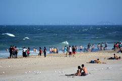 冲浪者天堂英属黄金海岸昆士兰澳大利亚 库存图片