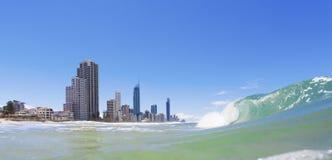 冲浪者天堂,昆士兰,澳洲 免版税库存图片