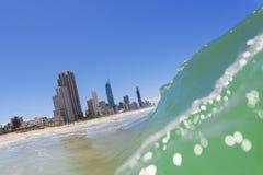 冲浪者天堂,昆士兰,澳洲 库存图片