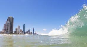 冲浪者天堂,昆士兰,澳洲 免版税库存照片