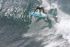 冲浪者女孩 图库摄影