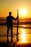 冲浪者注意的通知 免版税图库摄影