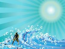 冲浪者 免版税库存照片