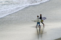 冲浪-休闲和体育 免版税图库摄影