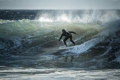 冲浪 免版税图库摄影