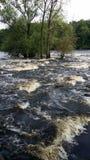 冲的小河小河 库存图片