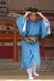 冲绳舞蹈家 库存照片