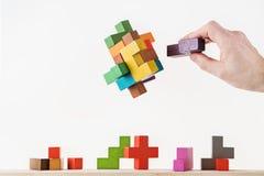 决策过程的概念 免版税库存图片