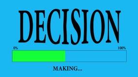 决策 向量例证