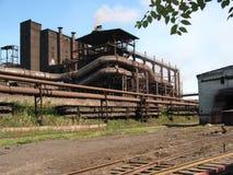 冶金工厂 免版税图库摄影