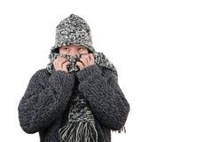 冷冬天 免版税图库摄影