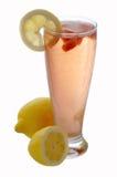 冷冰柠檬水 图库摄影