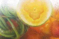冷冻果子冰蔬菜 库存图片