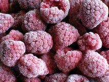 冷冻莓 免版税库存图片