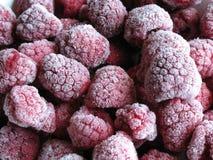 冷冻莓 库存照片