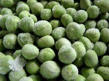冷冻豌豆 免版税库存照片