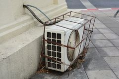 冷凝器空气 库存图片