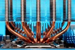 冷却的处理机装置 免版税库存图片